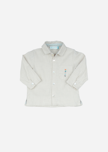 Long Sleeve Arrow Shirt, Camel