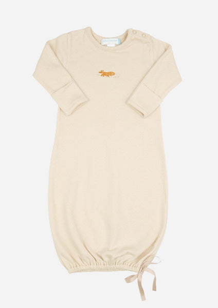 Mister Fox Baby Gown, Camel