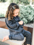 Ruffle Pants, Anthracite