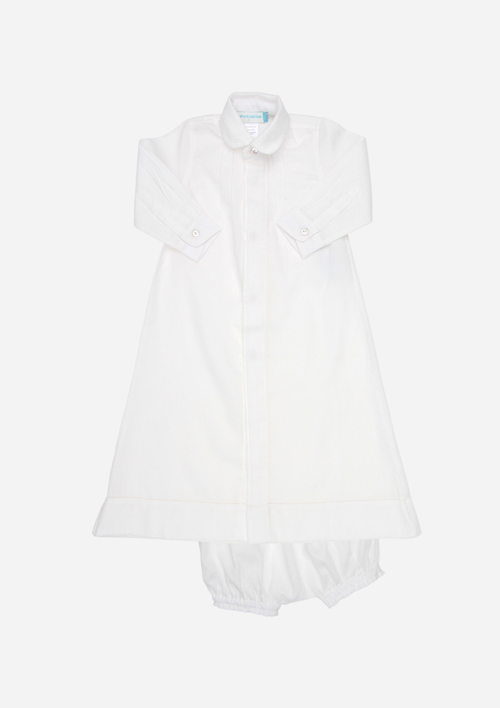 Modern Christening Gown, Ivory