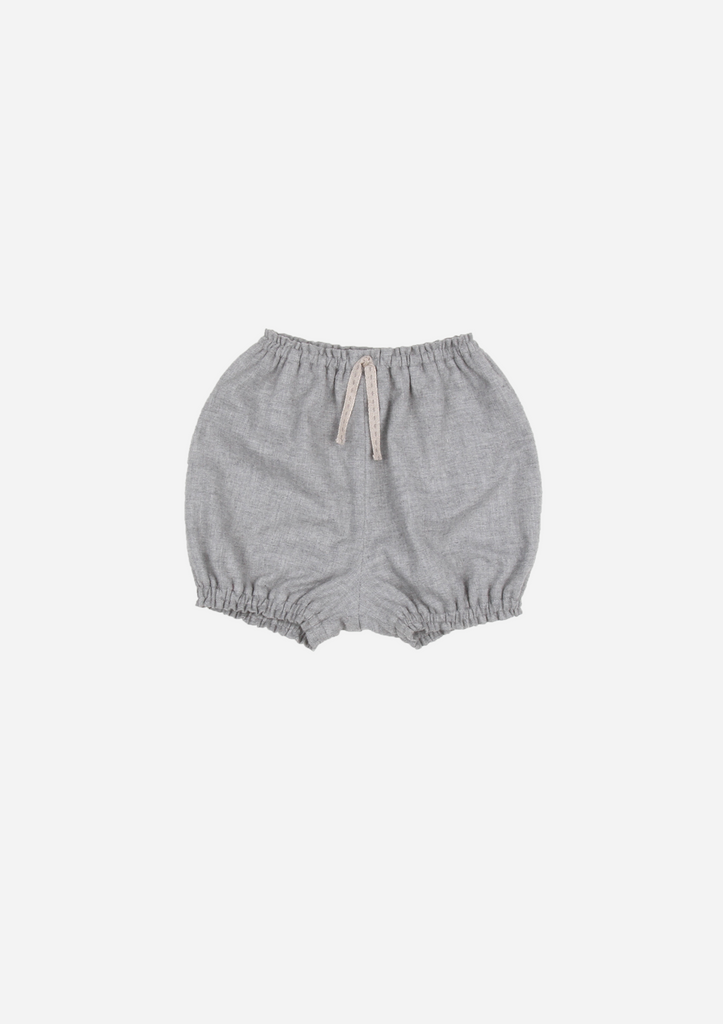 Chambray Bloomer, Slate