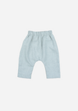 Double Face Chambray Harem Pants, Stone