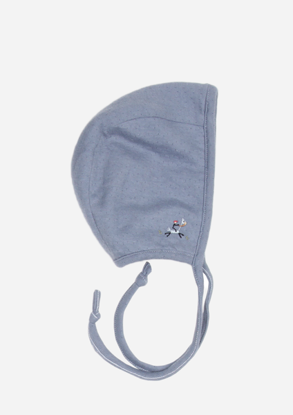 Cowboy Reversible Bonnet, Denim Blue