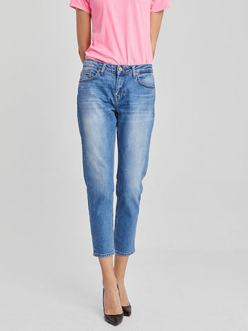 "LTB Women's ""Eliana Y Portable"" Mid Rise Slim Boyfriend 7/8th Jean"