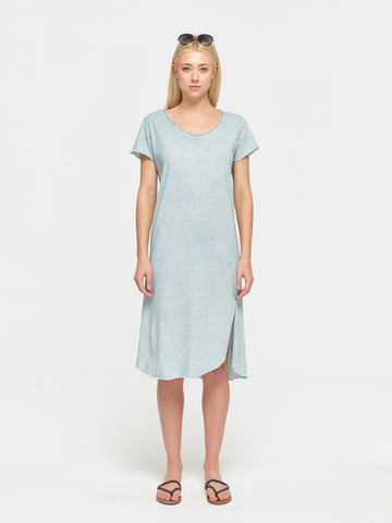Slub beach dress