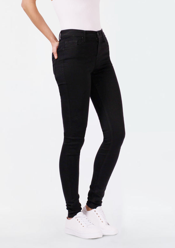 Tanya B Black High Rise Skinny