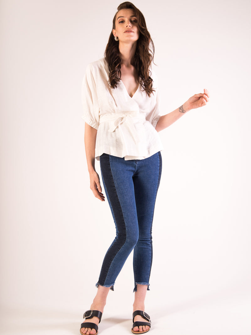 Anvy Lande High Rise Slim Denim
