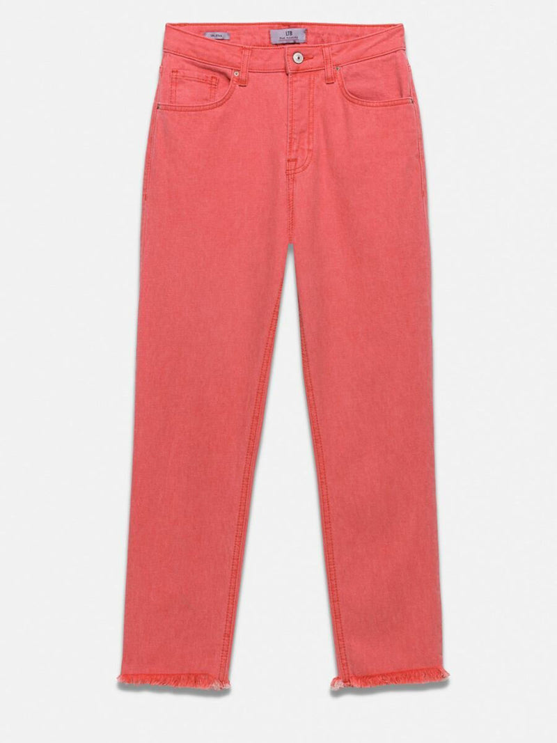 Valena Soft Pinky High Rise Straight