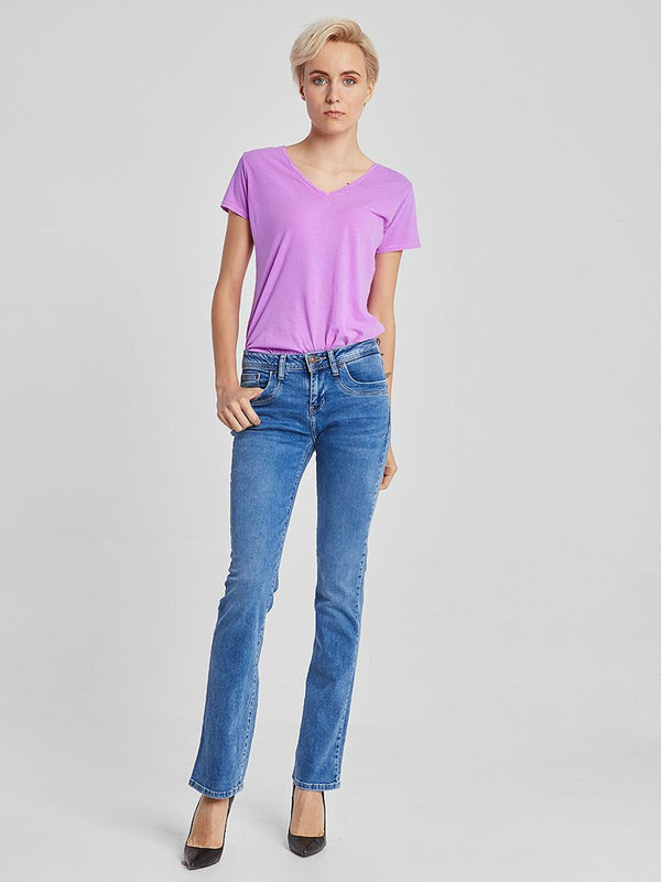 Valerie X Movable Mid Rise Bootcut Jean