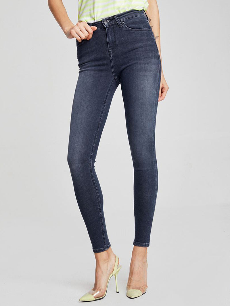 LTB Jeans Damen High Rise Super Skinny Ankle Tanya X Ankle
