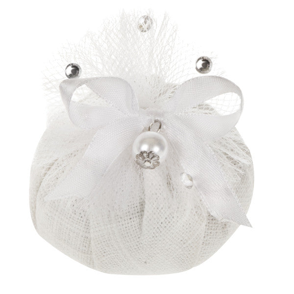 Dr. Taffi CHIC FLAX & WHITE TEA CUSHION W/ LINEN WHITE TEA FRAGRANCE - natural italian skincare www.MilanoCoronado.com