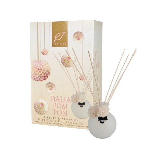 Dr. Taffi DALIA AND ORANGE FLOWERS FRAGRANCE DIFFUSER - natural italian skincare www.MilanoCoronado.com