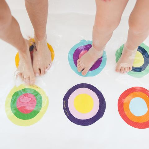 Bath Treads - Multi Color Rings - Through my baby's eyes