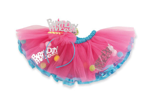 Birthday Princess Tutu Set - Through my baby's eyes