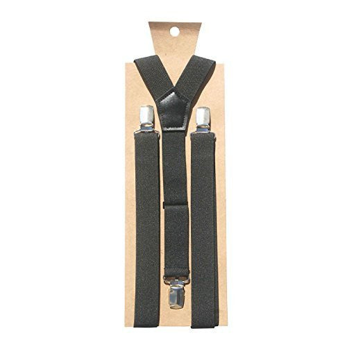 BLACK SUSPENDERS - S(12 month-3T) - Through my baby's eyes