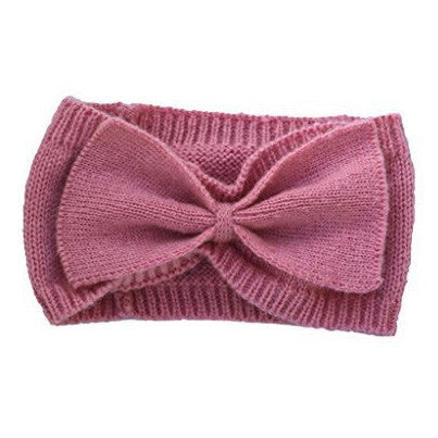 Girls Pink Bow Headband - One size - Through my baby's eyes