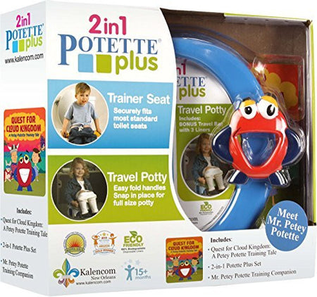 2n1 Potette Plus - Disposable Portable Potty Liners (10 count)