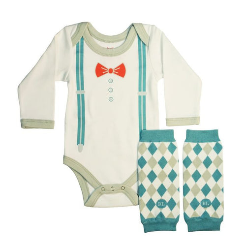 Little Mister BL Bodysuit Set - Newborn 0-3M - Through my baby's eyes