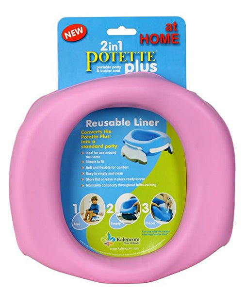 2in1 Potette plus - Travel Potty Reusable Liner - Through my baby's eyes