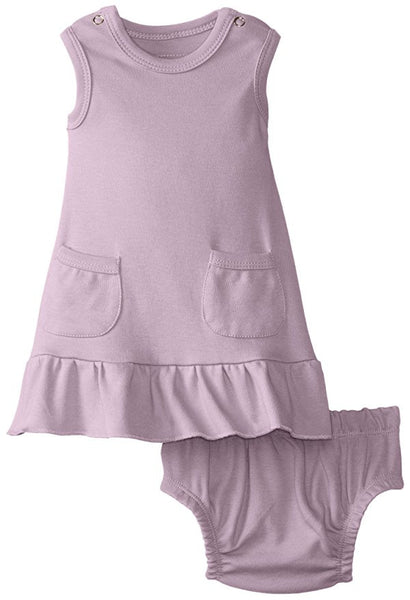 Organic Baby-Doll Dress & Bloomers - Through my baby's eyes