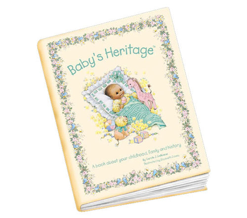 Baby's Heritage Book - Through my baby's eyes