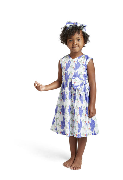 Sleeveless Party Bow Dress - Unicorn - Through my baby's eyes