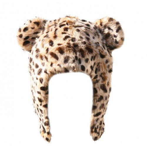 Leopard Print Faux Fur Hat - Through my baby's eyes
