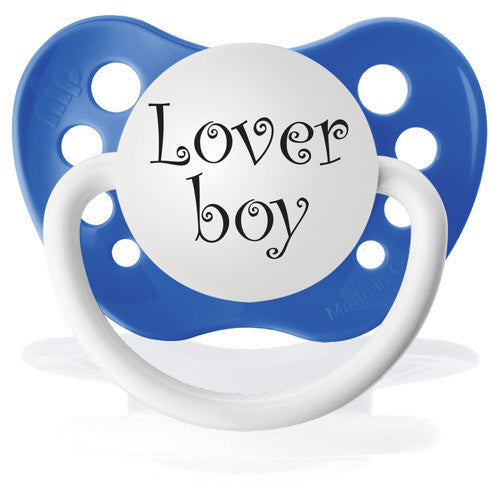 Expression Pacifiers - Loverboy - Through my baby's eyes