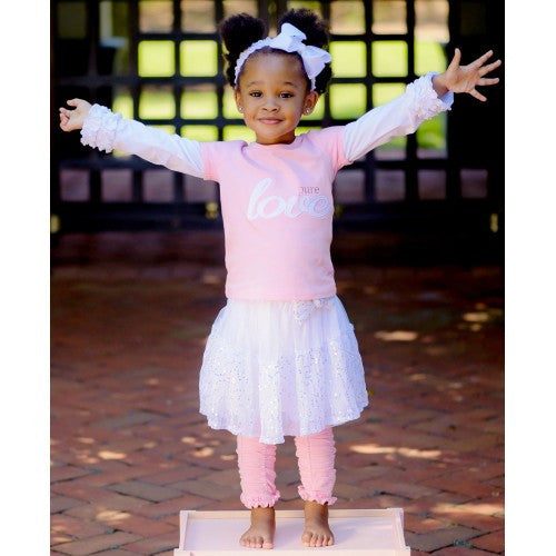 White Sequin Tutu Skirt - Through my baby's eyes