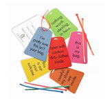 Funny Luggage Tags - Through my baby's eyes