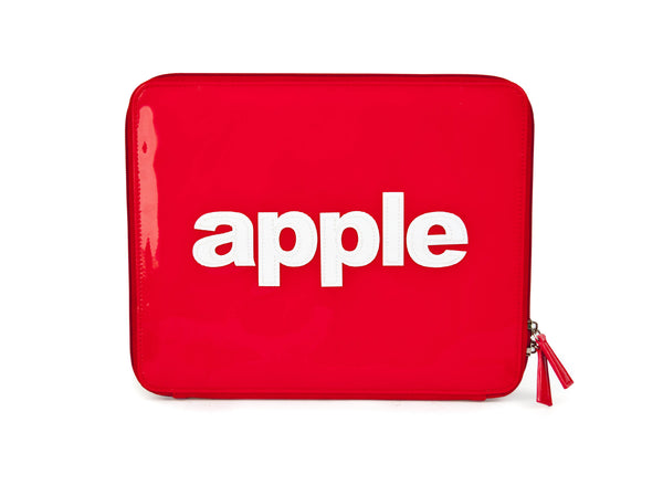 "iPad Case ""APPLE"" Red - Red - Through my baby's eyes"