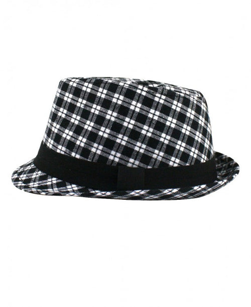Alex Plaid Fedora - Through my baby's eyes