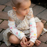 Finger Paints Legwarmers - Through my baby's eyes
