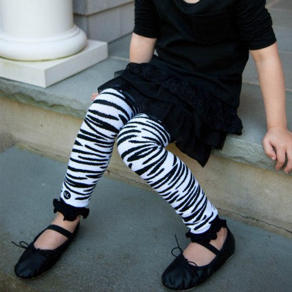 Zippy Zebra Legwarmers - Through my baby's eyes