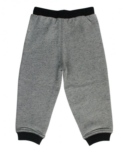 Gray Baby French Terry Joggers - Through my baby's eyes
