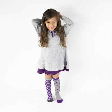 2 Pair Pack Appaman x BabyLegs Mixed Up Checks Knee High Socks