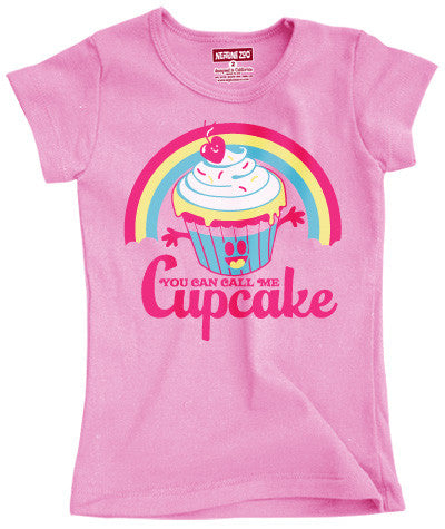 Cupcake Tee - Through my baby's eyes