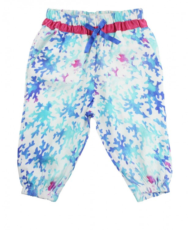 Aquamarine Harem Pants - Through my baby's eyes