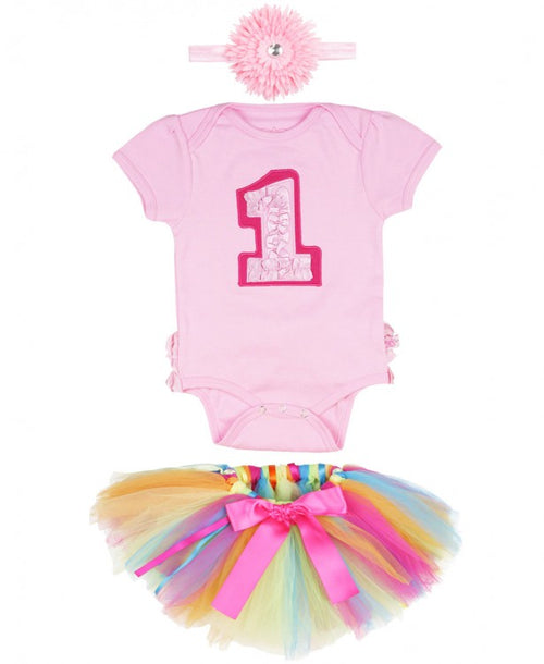 Complete First Birthday 3-Piece Set - 12-18M - Through my baby's eyes