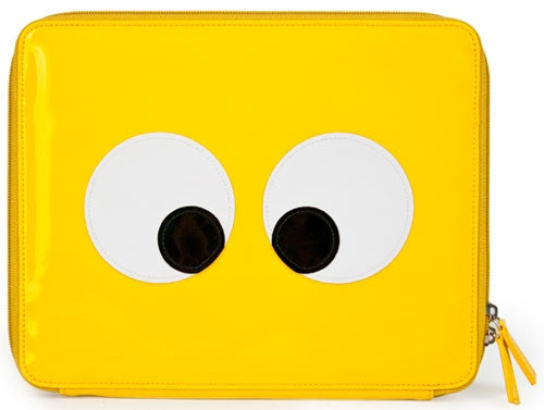 "iPad Case ""EYES"" - Yellow - Through my baby's eyes"