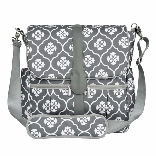 Backpack - Gray Floret