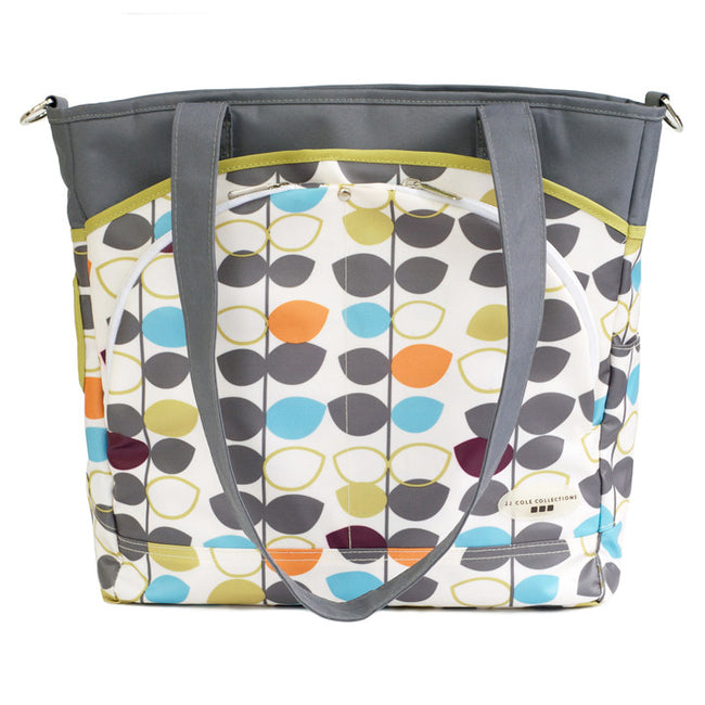 Mode Diaper Tote Bag, Mixed Leaf - Through my baby's eyes