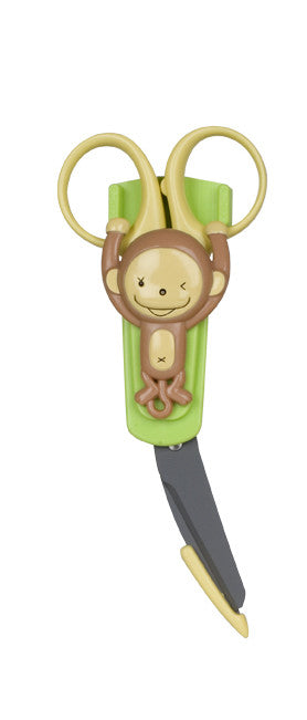 First Aid Safety Scissors - Monkey - Through my baby's eyes