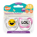 Expression Pacifiers - LOL Emoji 0-6M - Through my baby's eyes