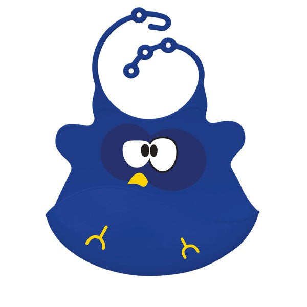 Hoot Owl Baby Bib - Through my baby's eyes