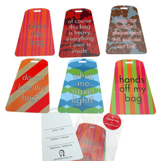 Clever Luggage Tags - Through my baby's eyes