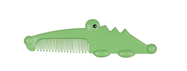 Gentle Grooming Baby Comb - Alligator - Through my baby's eyes