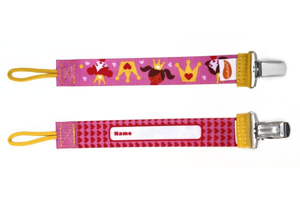 Princess Personalized Pacifier Clip - Through my baby's eyes
