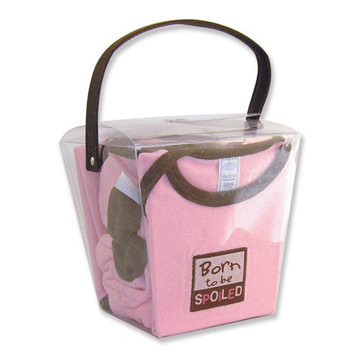 Born to be Spoiled Gift Set - Through my baby's eyes