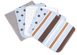 Max Dot Print Wash Cloth Set - Through my baby's eyes